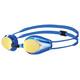 arena Tracks Mirror Okulary pływackie Dzieci niebieski